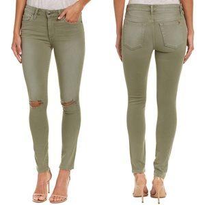 NWT Joe's Jeans Skinny Ankle Distressed Green 32